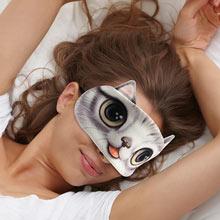 Cat Face Sleep Mask