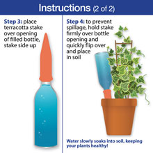 Terracotta Watering Spikes - Set of 4