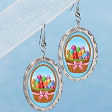 Holiday gifts dcor and clothing the paragon quick look easter basket earrings negle Images