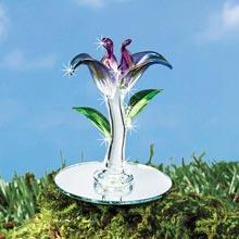 Blown Glass Mini Violet