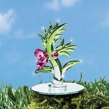 Blown Glass Mini Orchid