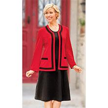 Classic Jacket Dress Set