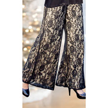 Elegant Lace Pants
