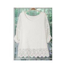Lacy Crocheted Top