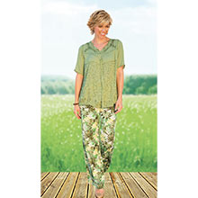 Cool & Carefree Embroidered Top