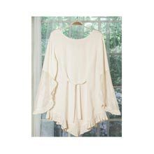 Beautiful Butterfly Sleeves Blouse