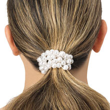 Pearlized Pony Tail Bands-S/4