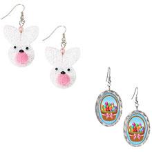 Easter Earrings-Set Of 2 Pair