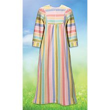 Striped Fleece Robe