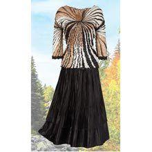 Enhancing & Slenderizing Skirt