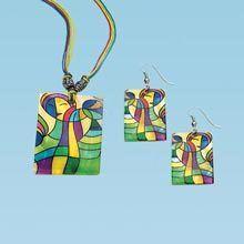 Artisan Shell Jewelry Set