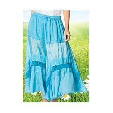 Satin & Lace Skirt
