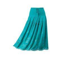 Cool & Carefee Cutwork Skirt