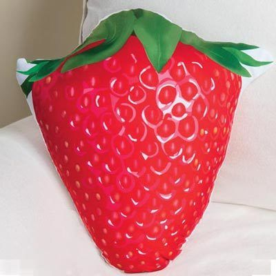 Strawberry Shaped Pillow