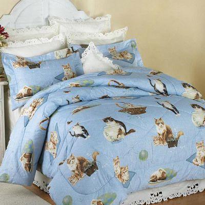 The Cat's Meow Comforter Set