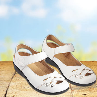 Woven Mary Janes