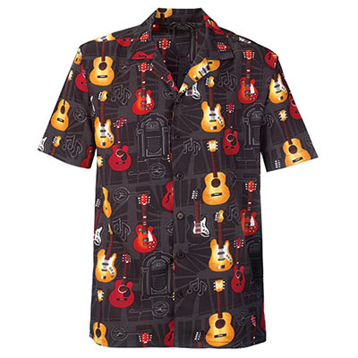 Colorful Guitar Shirt