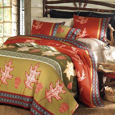 Autumn Leaves Fleece Blanket & Accessories
