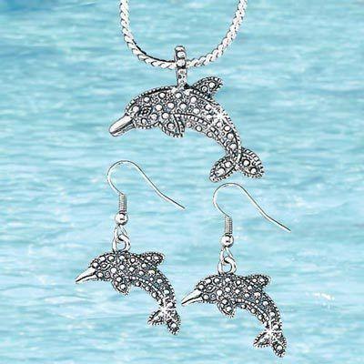 Dolphin Jewelry Set