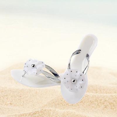 Floral Bling Sandals