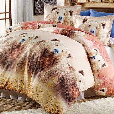 Grizzly Bears Duvet Set