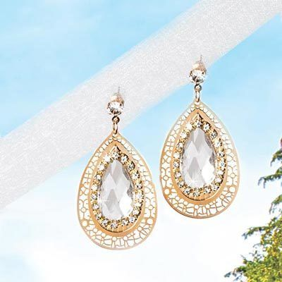 Exotic Teardrop Earrings