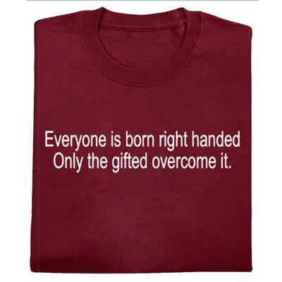 Right Handed Tee