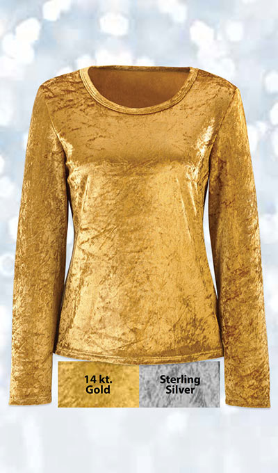 Velvet Touch Holiday Top