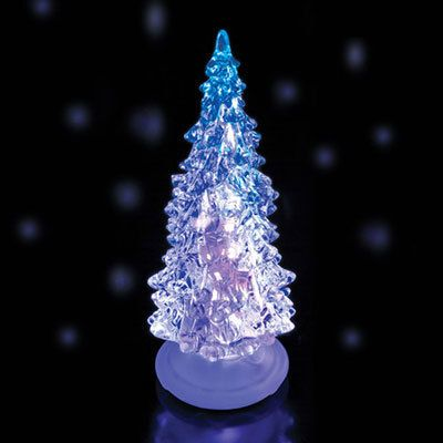 Small Color Changing Christmas Tree