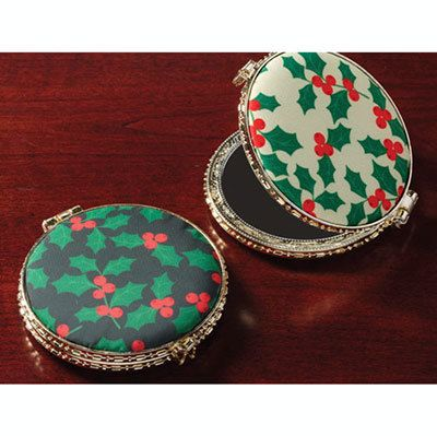 Holiday Pattern Double Compact