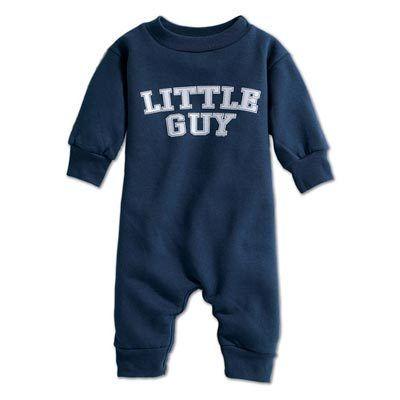 Little Guy Infant Sweat Romper