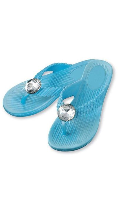 Big Bling Turquoise Sandals