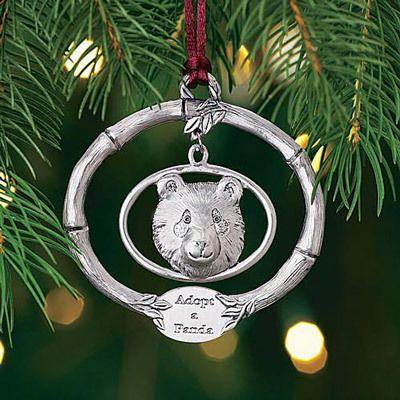 Adopt-a-Panda Ornament