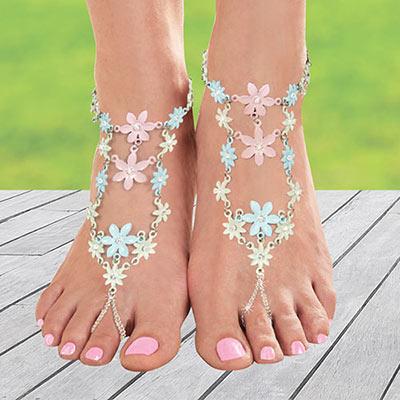 Flower Blossom Barefoot Jewelry