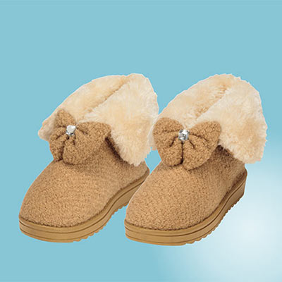 Cozy Bow Boots