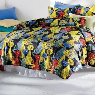 Krazy Katz Fleece Blankets & Sham