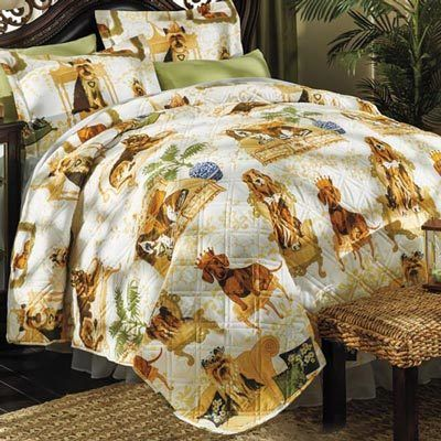 Master of the House Quilt Set