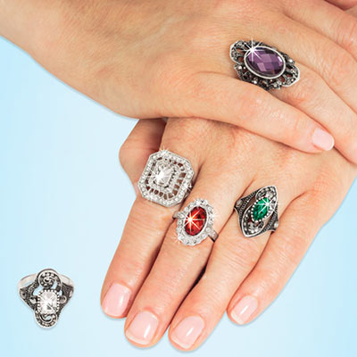 Ornate Ring Collection