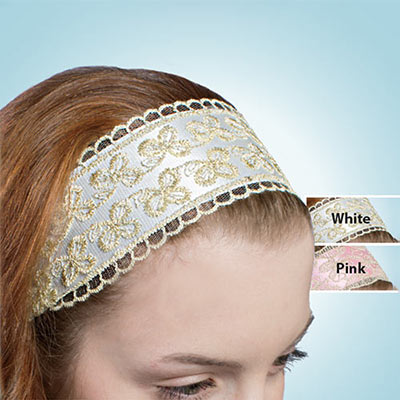 Ribbon & Lace Headband