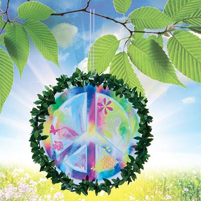 Peace Sign Tree Hanger
