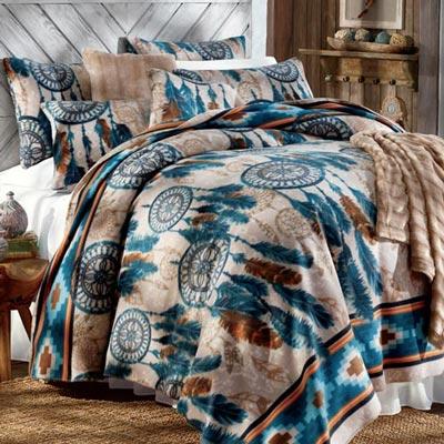 Dream Catcher Fleece Blankets & Accessory