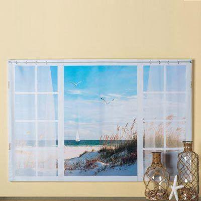 By the Beach Print