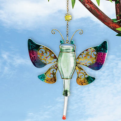 Colorful Butterfly Hummingbird Feeder
