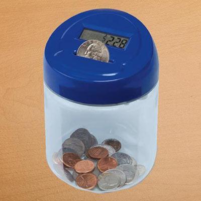 Digi-Count Money Jar