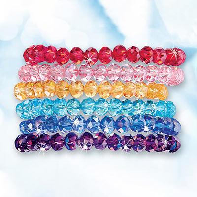 Sparkling Stretch Bracelets Set