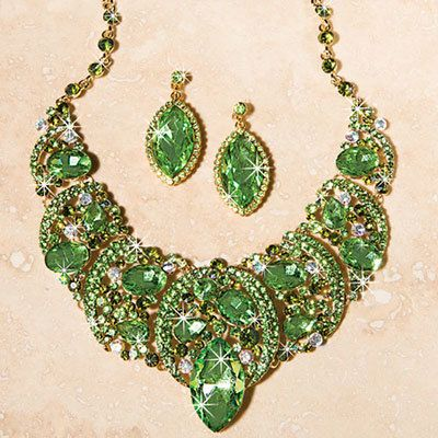 Enchanted Garden Jewelry Set