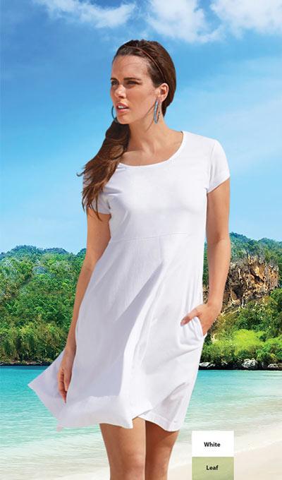 Fun-in-the-Sun Dress - White