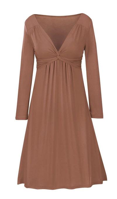 Slimming Twist-Top Dress