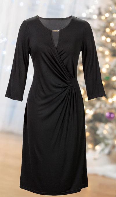 Updated Classic Black Dress