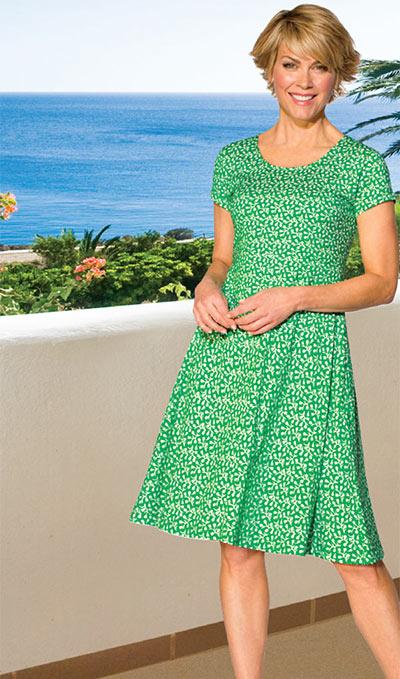 Floral Fun-in-the-Sun Dress